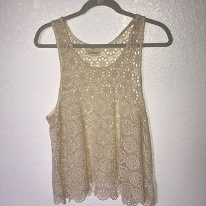 Urban Outfitters crochet tank